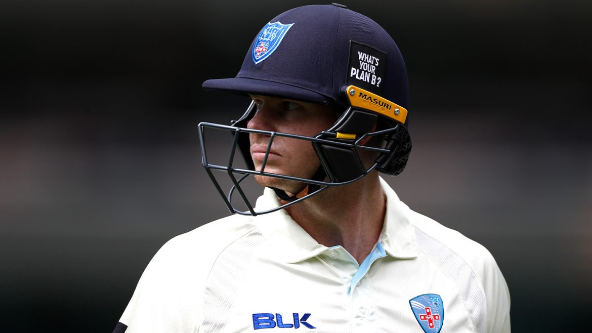 Star's all-time rescue act after Smith left fuming