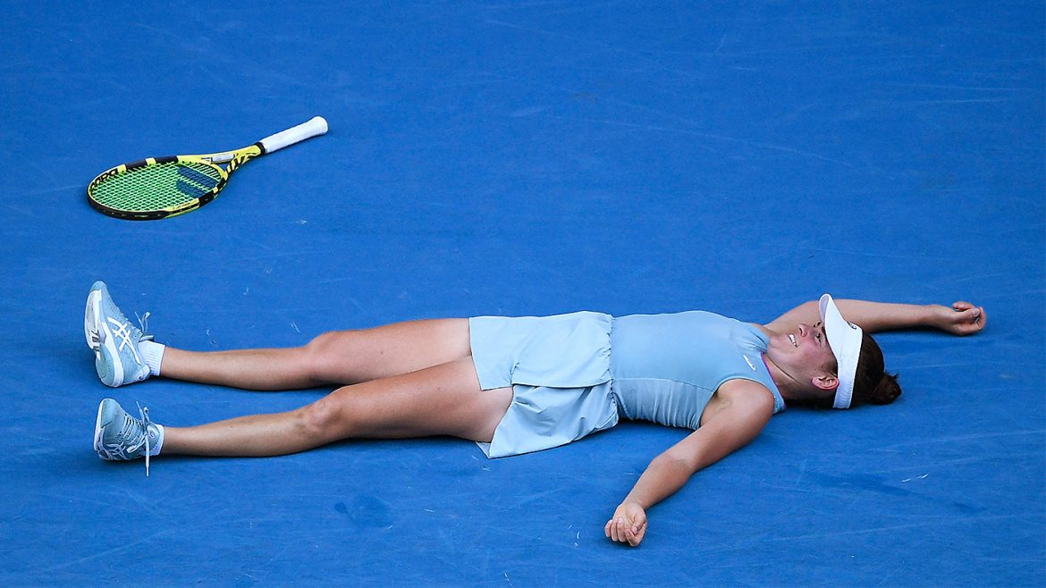 The 'Aussie' quality in surprise Open finalist