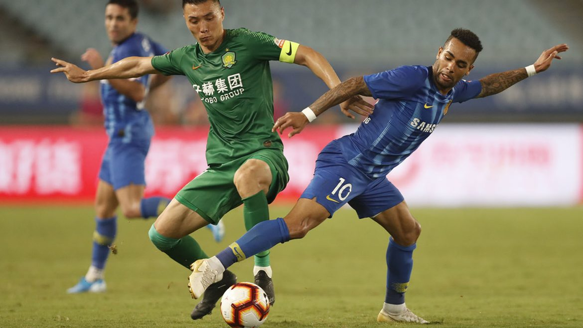 Big-spending Chinese football's shock implosion