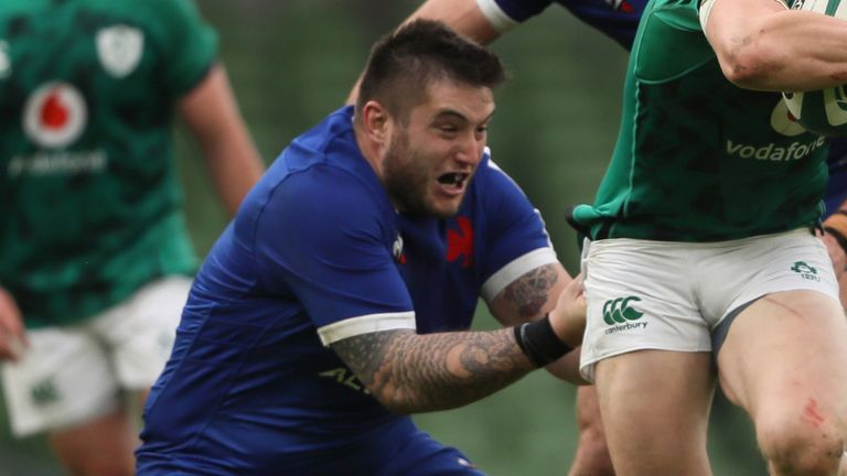 Five more France players test positive ahead of Scots clash