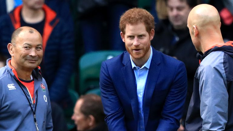 Prince Harry steps down from rugby roles