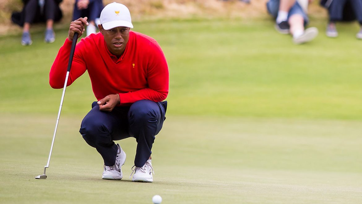 Woods' 'awake, responsive and recovering'