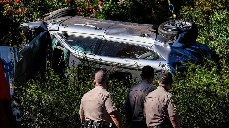 Woods 'unlikely to face charges' for crash