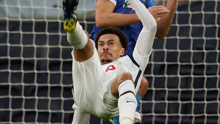 Jose: 'Amazing' Alli back to his best