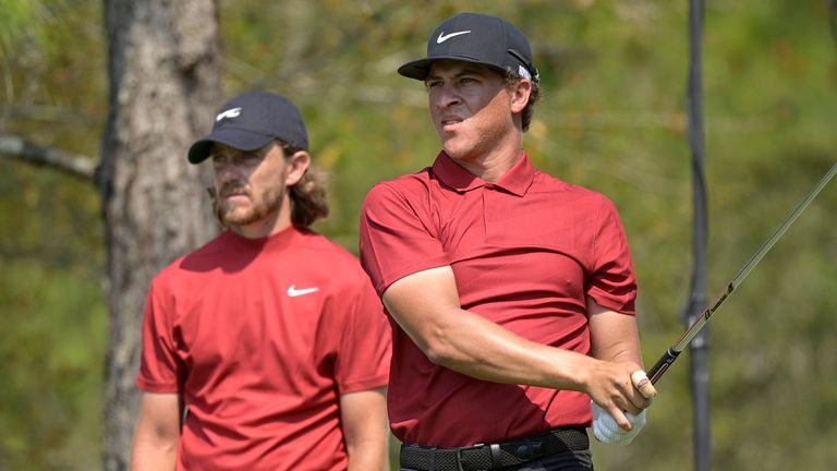 Woods 'touched' by red shirt tributes at WGC