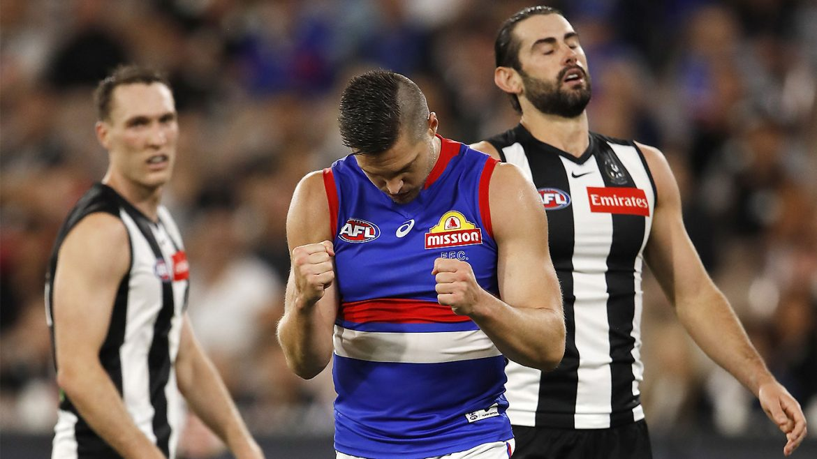 Grundy grilled after Dogs' twin towers mauling