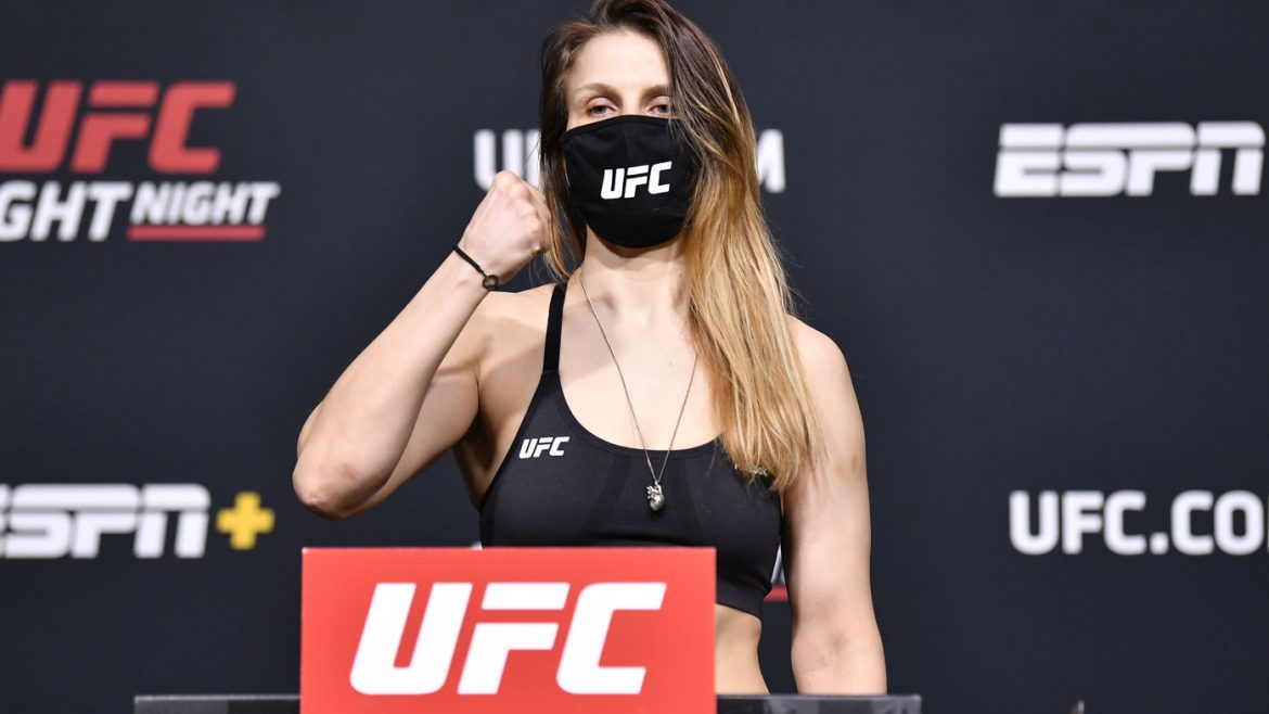 UFC rocked by fighter's 'scary' weigh in collapse
